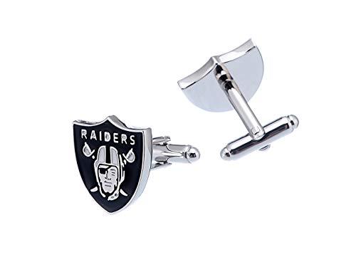 Oakland Raiders NFL Logo'd Executive Cufflinks w/Jewelry Box