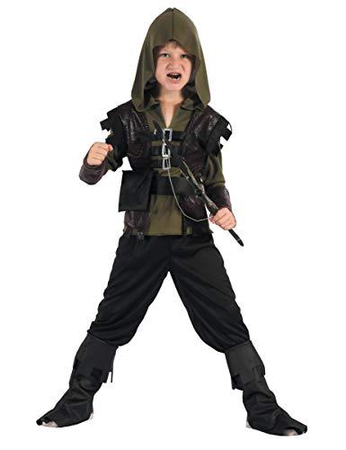 generique Costume da arciere verde per bambino 3/4 anni (98/104)