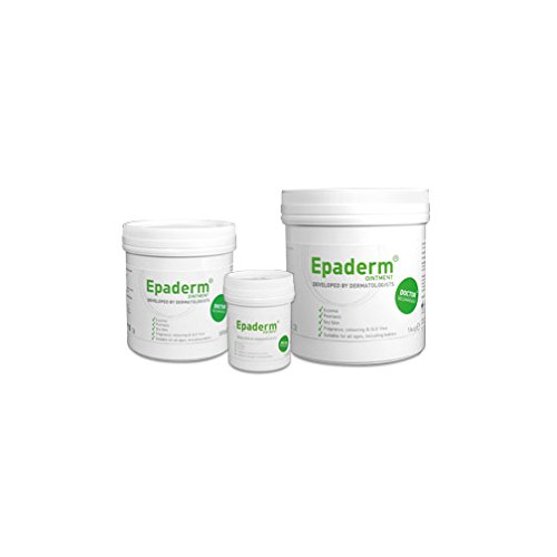Epaderm 99400816 Dermatologie-Salbe, 3-in-1 Weichmachersalbe, Badzusatz und Hautreiniger, 125 g Tube (6 Stück)