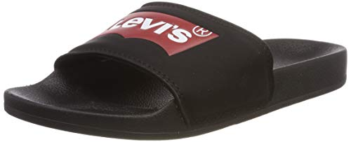 LEVI'S Damen 229170-794-59_41 Slides, Black, EU