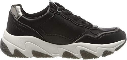 bugatti Damen 432846015059 Sneaker, Schwarz (Black/Grey 1015), 38 EU