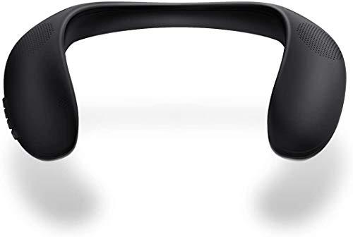 Altavoces Bluetooth Portatiles, Altavoz Inalámbrico Bluedio HS (Hurricane) con Banda Para el Cuello, Sonido Estéreo Envolvente, Radio FM, Ranura para Tarjeta SD, Speaker Bluetooth 5.0 y Manos Libres