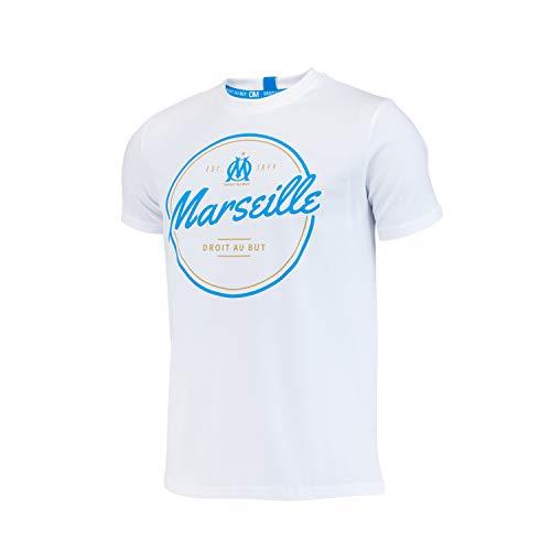 OLYMPIQUE DE MARSEILLE T-Shirt Om - Collection Officielle Taille Homme XXL