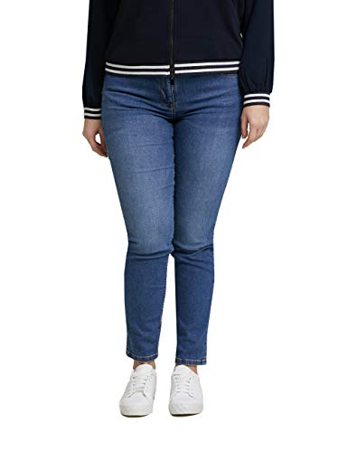 Fiorella Rubino : Skinny Push-up-Jeans Giada Blau 41 Damen (Plus Size)