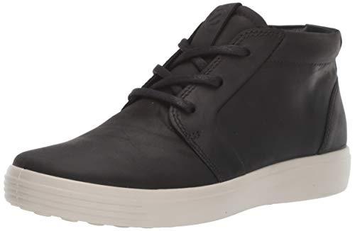 ECCO Herren SOFT 7 M Hohe Sneaker Ankle Boot, Schwarz (Black 2001), 42 EU