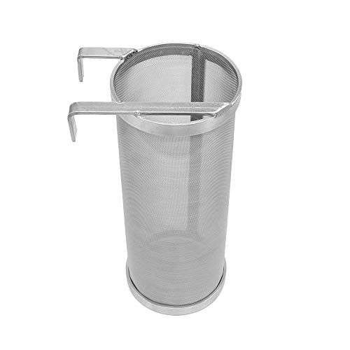Merrday Inoxidable Hop Spider Barril de Cerveza Dry Hopper Filter Screen Strainer...