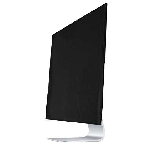 TXEsign Premium Protective Dust Screen Cover Sleeve with Inner Soft Lining Compatible with iMac 21.5 inch Slim A1224/ A1311/ A1418 (21.5 Inch, Black)