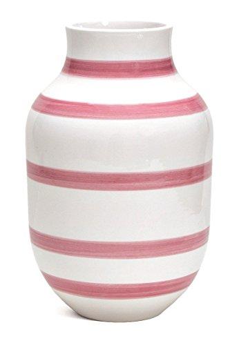 Kähler - Vase/Blumenvase - Omaggio - Keramik - rosa - Höhe 30,5 cm