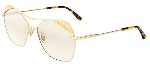 Etnia Barcelona Sonnenbrillen (KALAHA BEGD) gold - marmor stil opal - grau-braun verlaufend mit verspiegelt effekt