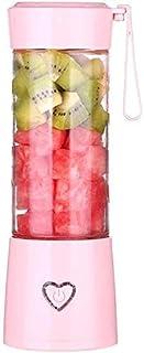 LINANNAN Mélangeur Portable Juicer, Mini Shaker électrique Multifonctions, Chargements USB, Coupe de jus de Verre, Fruits,...