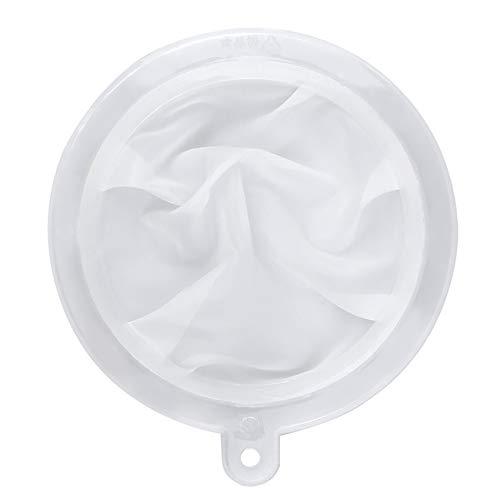 HAUSPROFI Sieb Filter Kompatibel mit 15cm Küchen Trichter für Filterung von Saft, Milch, Kaffee, Wein - 400 Mesh