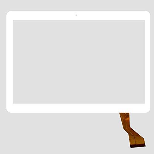 Blanco EUTOPING  De Nuevo 10.1 Pulgadas Reemplazar Pantalla tactil Digital para ibowin P130