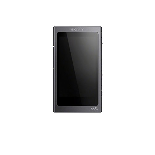 Sony Nw-A45R High Resolution Walkman Mp3-Speler (16Gb, Touchscreen, Bluetooth, Tot 45H Accu), Zwart