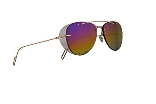 Christian Dior Homme DiorChroma1 Gafas De Sol Dorado Con Lentes Arcoiris 59mm J5GR3 Chroma 1 Chroma1