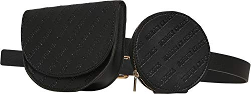 Urban Classics Beltbag Double Black one Size, Standard