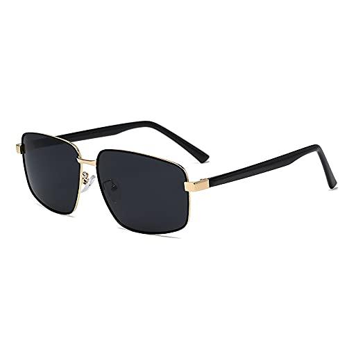 Miffen Occhiali Da Sole, Una Varietà Di Colori Disponibili, Occhiali Da Sole Polarizzati per Uomo E Donna, Occhiali Da Sole per Uomo E Donna, Occhiali Da Sole Protettivi Da Donna (Color : Black)