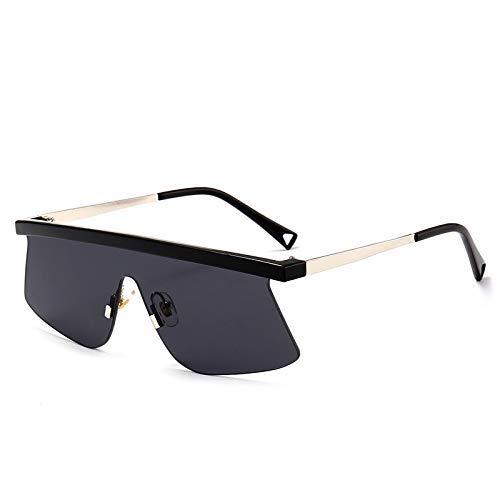 LAMZH Gafas de Sol Deportivas de Moda de Moda UV Protección integrada de Estilo de conducción Accesorios de Fiesta (Color : Black)