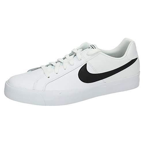Nike NikeCourt Royale AC, Zapatillas de Tenis para Hombre, Blanco White Black 103, 42.5 EU