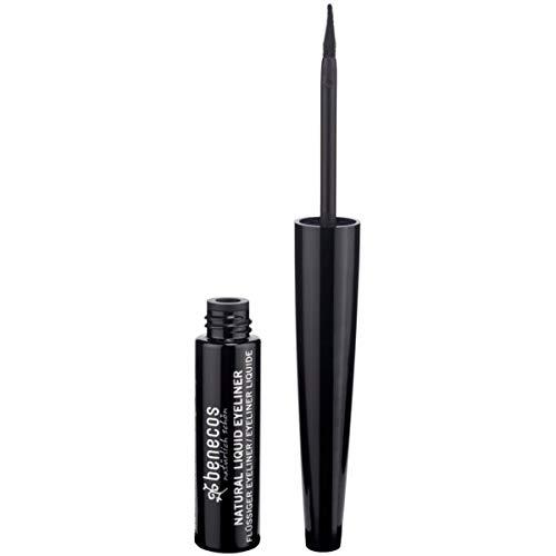 Benecos - Eyeliner Liquide Naturel Noir 3Ml - Lot De 3 - Vendu Par Lot - Livraison Gratuite En France