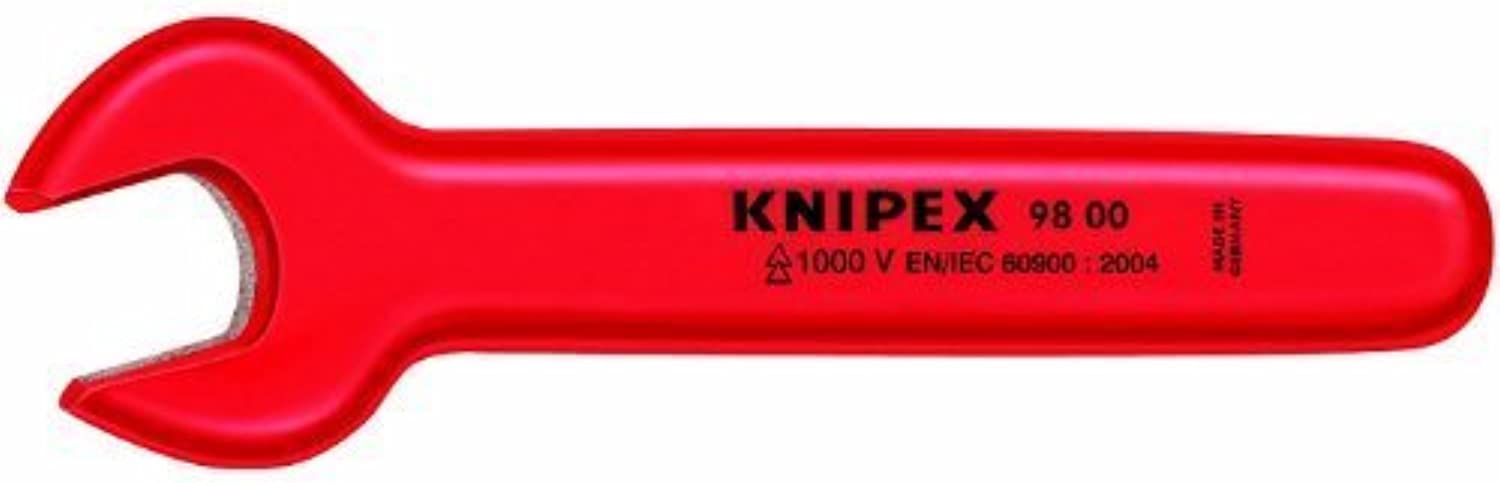 KNIPEX 98 00 9 16 1,000V Insulated 9 16 Open End Wrench by Knipex Tools LP B0186JEUWU   Ästhetisches Aussehen
