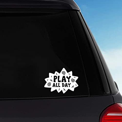 H421ld Pegatina de vinilo extraíble Play All Day