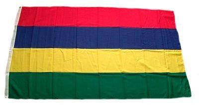 Fahne / Flagge Mauritius NEU 90 x 150 cm Flaggen