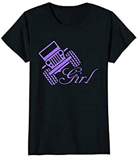 Off Road Jeep Shirts For Women Car Monster Truck T-Shirts [並行輸入品]