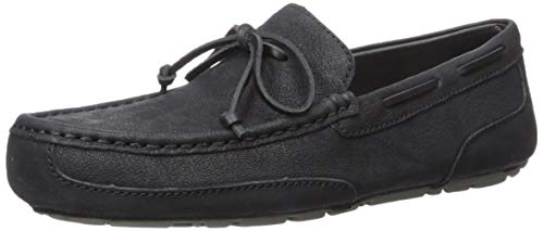 UGG Men's Chester TS Driving Style Loafer, Black, 11 M US