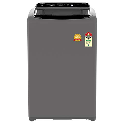 Whirlpool 7 kg 5 Star Fully-Automatic Top Loading Washing Machine (WHITEMAGIC ELITE 7.0, Grey, Hard Water Wash)
