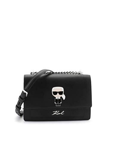 Karl Lagerfeld K/IKONIC SHOULDER BAG Handtaschen femmes Schwarz - Einheitsgrösse - Umhängetaschen