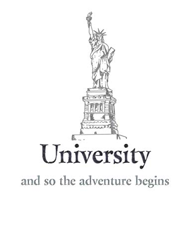 university and so the adventure begins: study Planner for Student Teacher 8,5×11'' 150 pages to orginize Time study, Topics to study, Progress, importants Notes 2021 planner