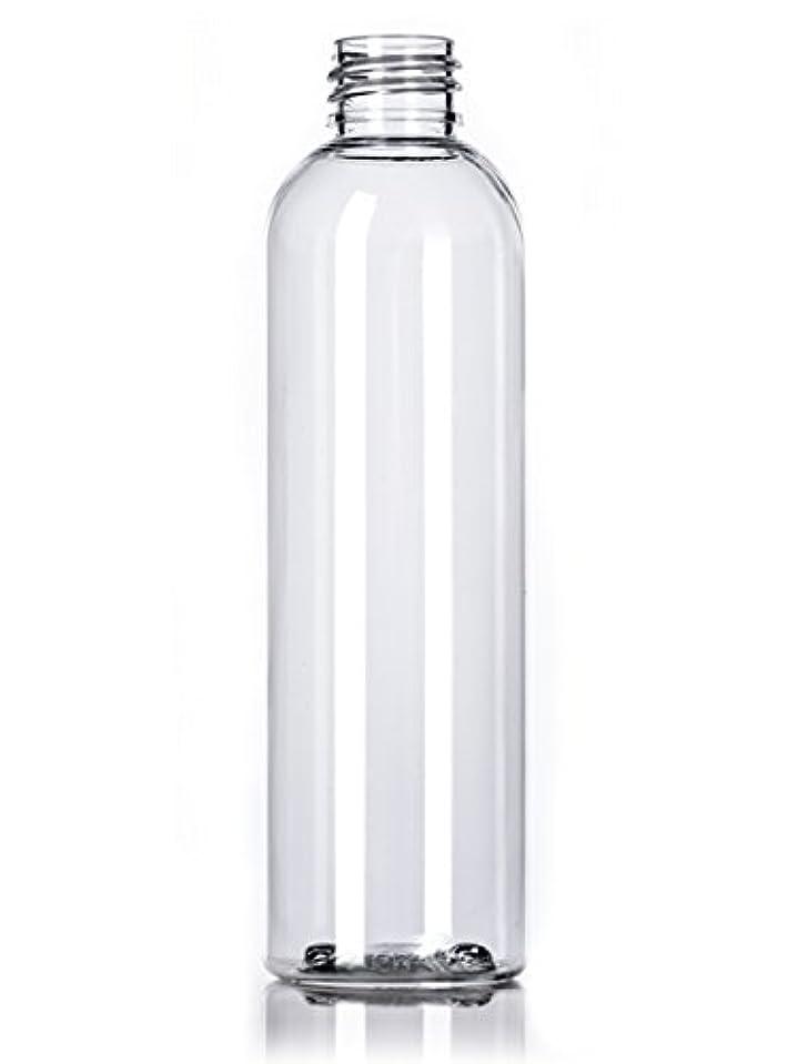 優雅立ち向かう離すプラスチック(PET)ボトル/ディスクトップキャップ4オンス、クリア、4カウントワット
