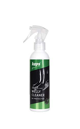 Kaps Gummistiefel-Reinigungsspray   Pflege und UV-Schutz für Gummistiefel-, und Schuhe   für jegliche Kunststoffart geeignet Welly Cleaner   200 ml - 7 fl. oz.