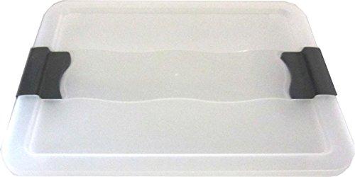 Unbekannt 5 x Deckel für OKT Kristallbox 7L + 12 L+ 24L transparent