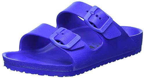 Birkenstock Arizona Eva 1018925 Ultra Blue Ciabatte Bambino Fibbie Gomma 34