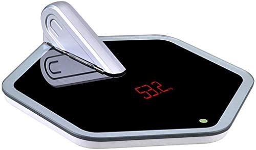 LQH Elektronische Waage elektronische Waage Compact Haushaltswaage for Körpergewicht genaues Gewicht der Frau, Messen des Gewichts der Erwachsenen
