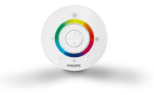 Philips Living Colors Aura, Energiesparende LED-Technologie mit 8 Watt, 16 Millionen Farben, mit Fernbedienung, schwarz 7099830PH - 8
