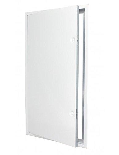 Revisionstür 40 x 80 cm weiß (bxh) mit Vierkantverschluss incl. Schlüssel