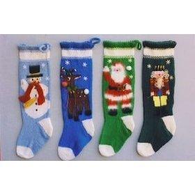 Knitting Christmas Stocking Pattern Free.Patterns For Knitted Christmas Stockings Free Patterns