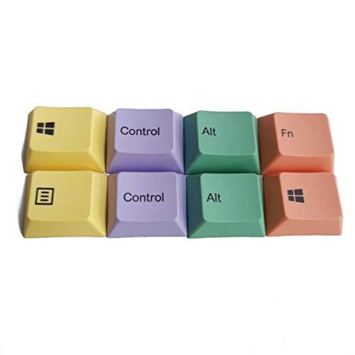 juqingshanghang1 8 stücke 1,25U PBT-Farbstoff-Sublimation Keycaps Mechanische Tastatur Keycaps (Color : A)