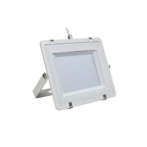LED-schijnwerper - 200W, met Samsung Chip, SMD, wit lichaam, 5 jaar garantie, wit