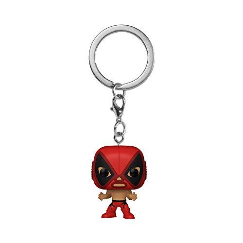 Funko 53897 POP Keychain: Marvel Luchadores-Deadpool, Multicolour