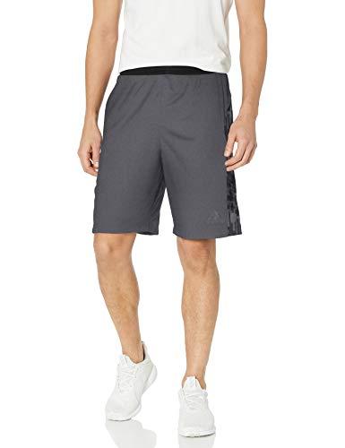 adidas Men's Training Speedbreaker Tech Shorts, Utility Black/Print, X-Large