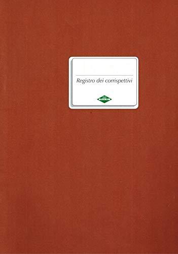 REGISTRO CORRISPETTIVI FLEX 16 PAGINE NUMERATE 24,5 X 31