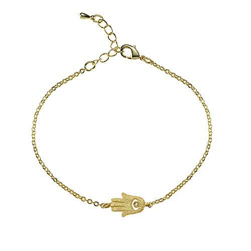 Bracelet Barrette NAMANA pav/é de Cristaux Swarovski Plaqu/é Or Rose Dor/é ou Argent/é Bracelet en Maille V/énitienne Ajustable gr/âce /à une Boule M/étallique Coulissante.
