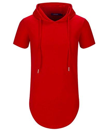 Aiyino Men's S-5X Short Sleeve Fashion Athletic...