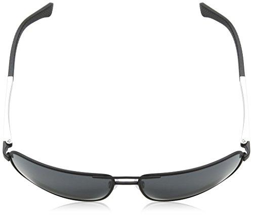 Armani sunglasses for men and women Emporio Armani EA2033 3094/87 Matte Black EA2033 Square Pilot Sunglasses Lens C