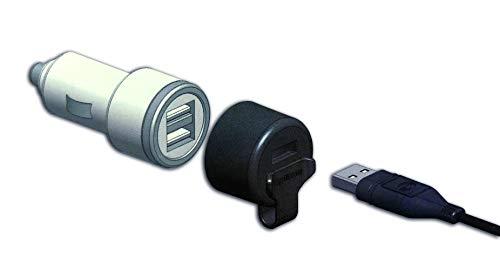 Baas USB-Doppellader, 3,3A mit patentierter Spritzschutzkappe Belastbarkeit Strom max.=3.3A