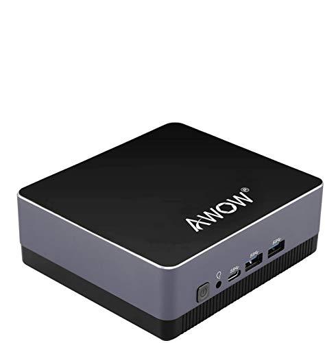 AWOW Mini PC Windows 10 Pro, Micro Mini Desktop Computer 8GB DDR 128GB SSD...
