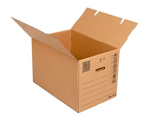 Cajas de mudanza grandes 600x400x400mm Empaque muy resistente y duradero Cartón de...
